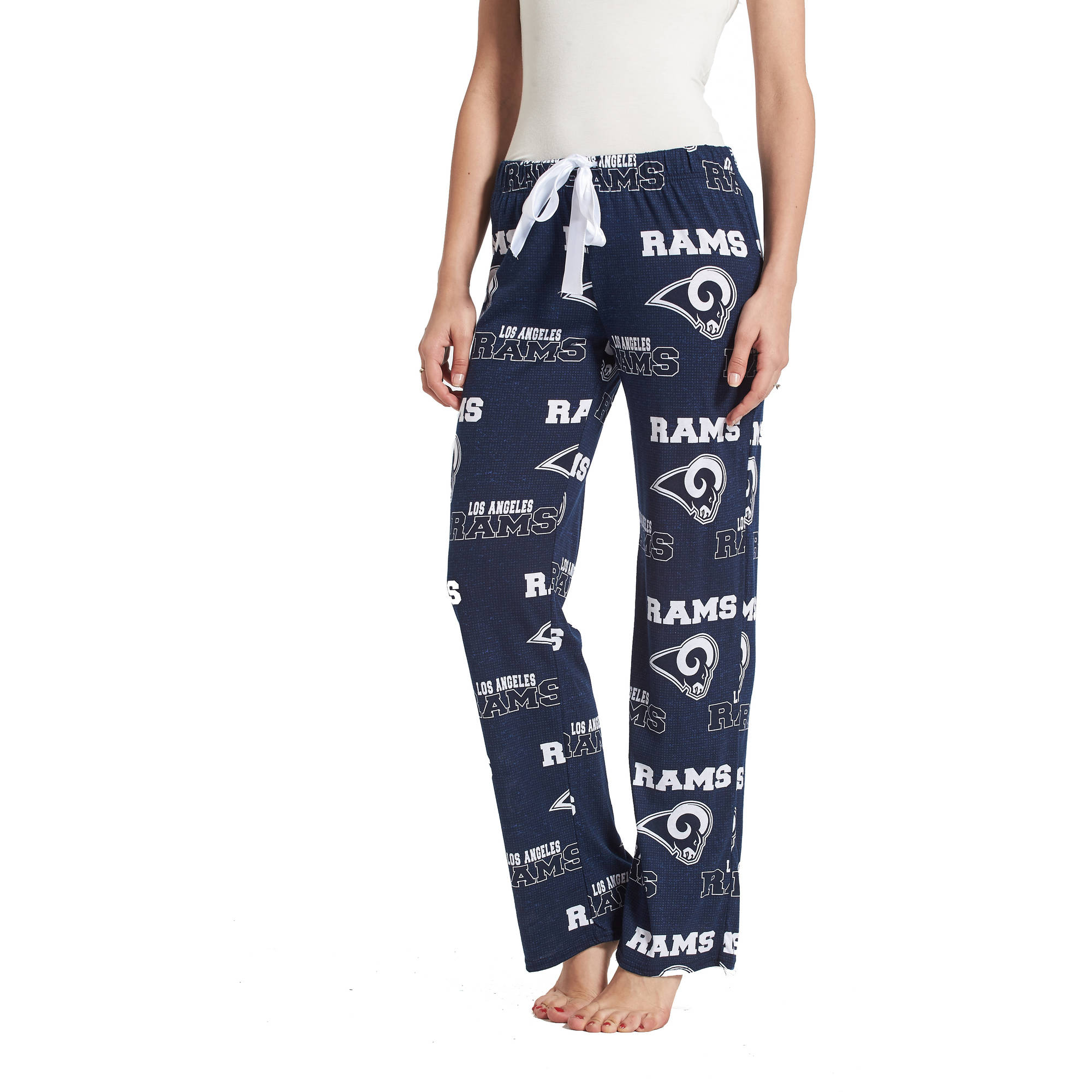 NFL Los Angeles Rams Tackle Ladies' AOP Knit Pant