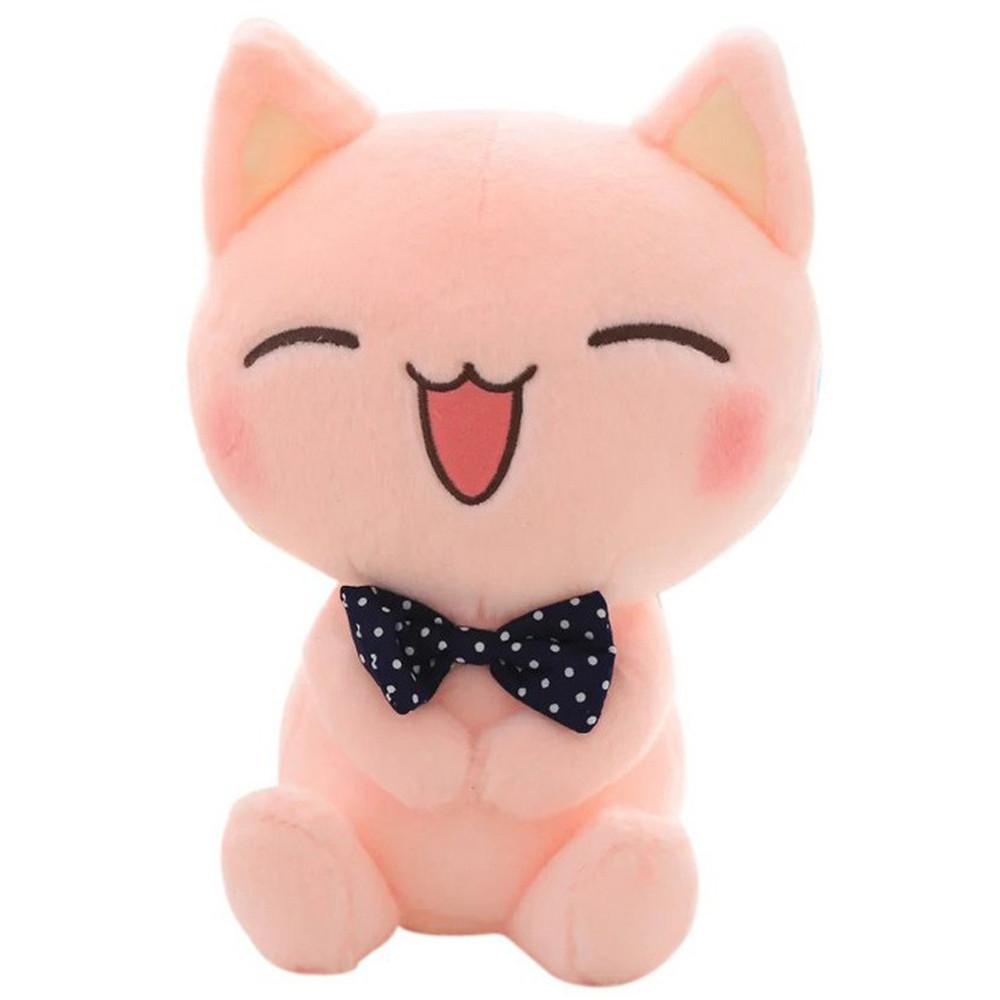 Mosunx Stuffed Toy Animal Soft Simulation Lovely Plush Doll Cute Kitty Kawaii Cat Toy