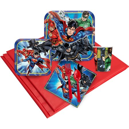 Justice League Party Pack for 16](Justice League Decorations)