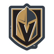 6abd8b4a Las Vegas Golden Knights WinCraft Gold Black Logo on the Gogo Car Grille  Emblem