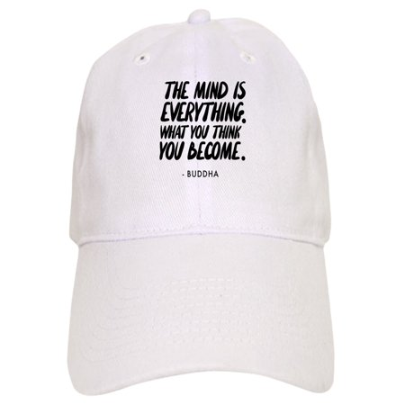3cb6161f82c36 CafePress - Buddha Quote The Mind Is Everything - Printed Adjustable  Baseball Cap - Walmart.com