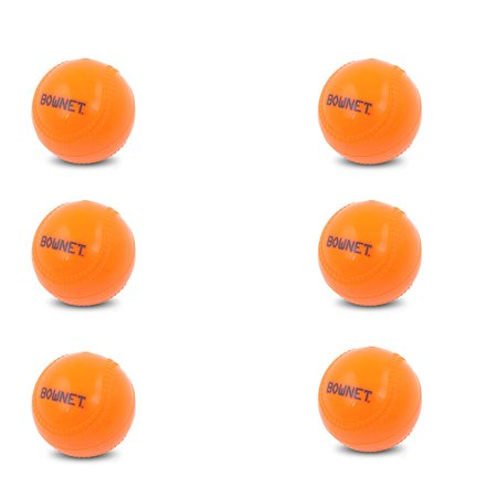 Bownet Ballast 14 oz Weighted Pitching Training Baseball, Orange (6 Pack) - image 2 de 2