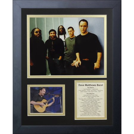 Dave Matthews Band Framed Photo Collage, 11x14, by Legends Never Die