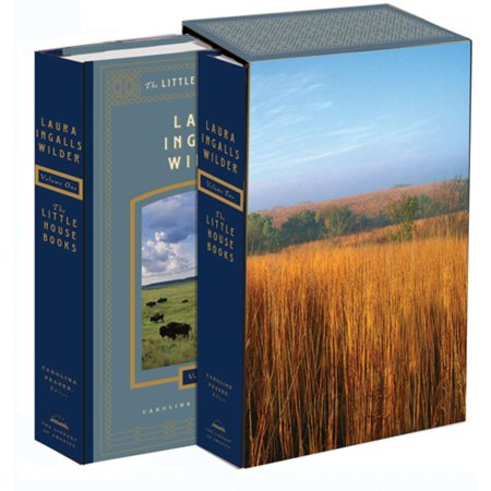 Library Box Set - Laura Ingalls Wilder: The Little House Books: The Library of America Collection : (Two-volume boxed set)