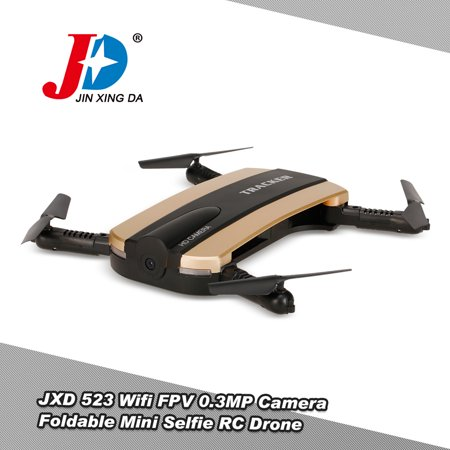 JXD 523 Wifi FPV 0.3MP Drone with Camera Altitude Hold Foldable Mini...
