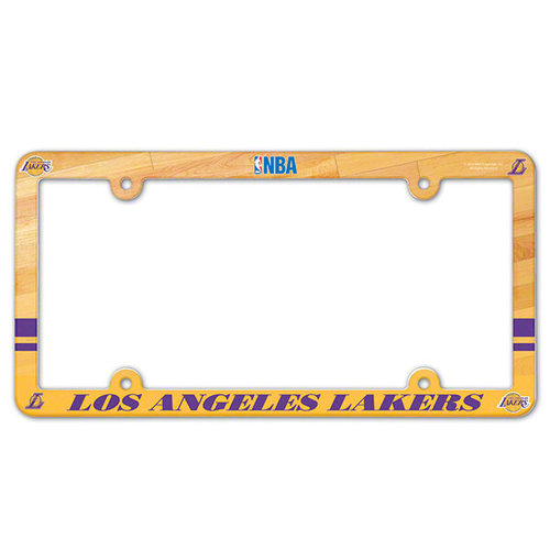 NBA - Los Angeles Lakers Plastic License Plate Frame