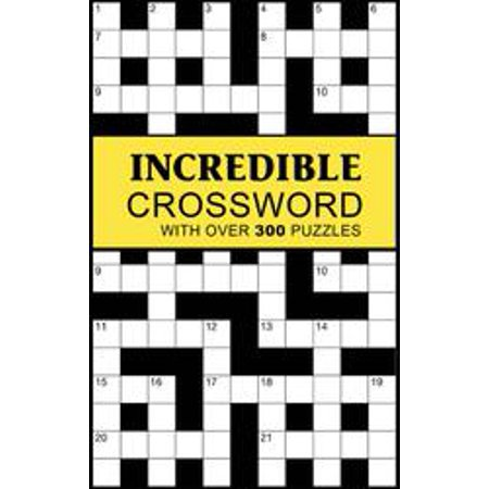 Incredible Crossword  With Over 300 Puzzles