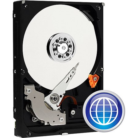 - WD Blue WDBAAX5000ENC - Hard drive - 500 GB - internal - 3.5