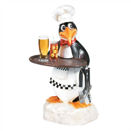 RAM Game Room Penguin Chef Waiter Outdoor Table