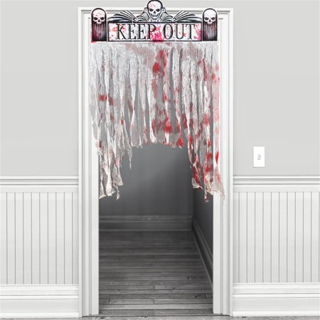 BLOODY DOORWAY CURTAIN