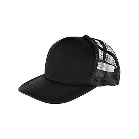 Amscan Black Baseball Hat