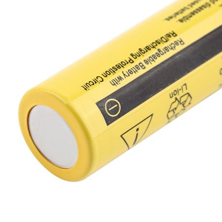 3.7V 18650 9800mah Li-ion Rechargeable Battery For LED Flashlight Torch/electronic gadgets 65x17mm - image 5 de 5