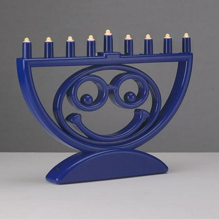 Travel Hanukkah Menorah (Battery Operated 'Menoji' LED Hanukkah Menorah )