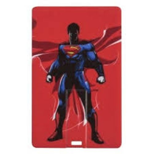 Tribe Superman 8GB Flash Drive with USB 2.0 - Red w/ Superman Image