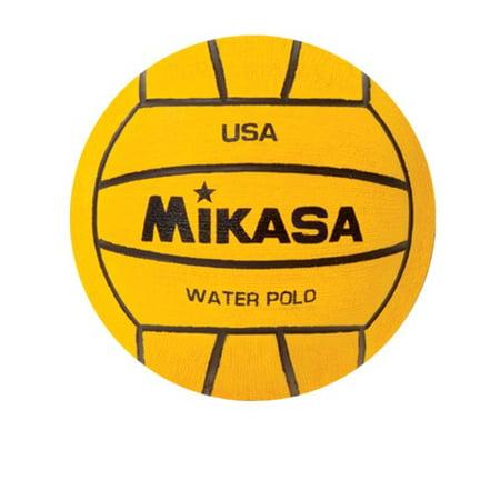 Water Polo Mini Ball by Mikasa Sports, Yellow - W500 (Mini Water Polo Balls)