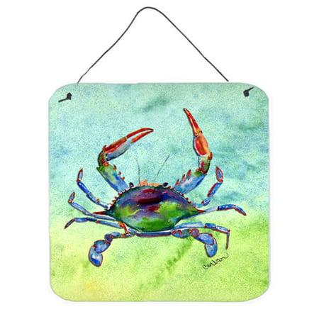 Carolines Treasures 8550DS66 Crab Aluminium Metal Wall Or Door Hanging Prints - image 1 de 1