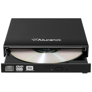 EXTERNAL SLIM 8X DVD USB 2.0 BURNER WITH TRAY LOAD