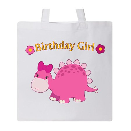 Birthday Dinosuar- cute dinosaur Tote Bag White One Size - Cute Tote Bags