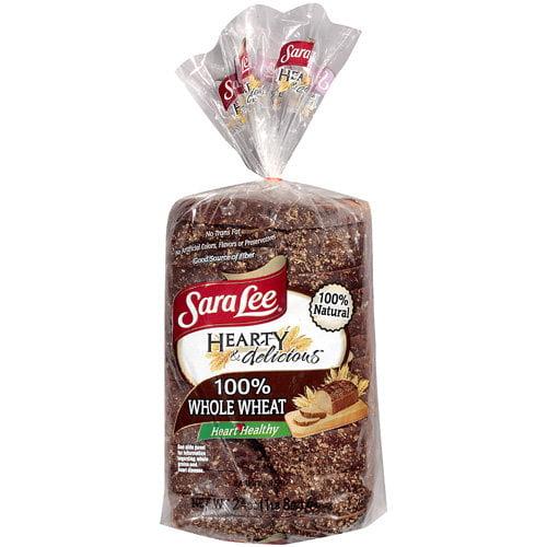 Sara Lee Hearty & Delicious 100% Whole Wheat Bread, 24 oz