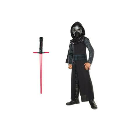 Star Wars the Force Awakens Kylo Ren Boys Costume Set](Ren Faire Dresses)