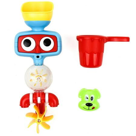 Toysery Baby Bath Toys - Kids Water Spray Tube Shower Station Toy Set - Bath Tab Toys for Children Girls Boys