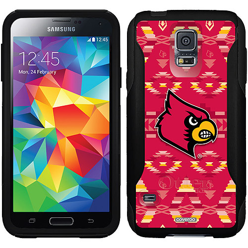 University of Louisville Tribal Design on OtterBox Commuter Series Case for Samsung Galaxy S5