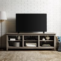 Walker Edison 70-inch Wood TV Media Storage Stand