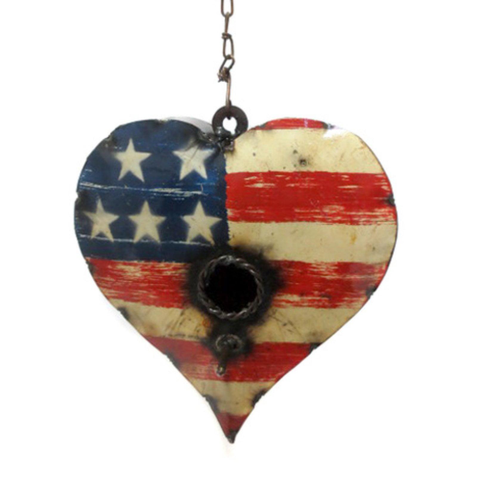 Rustic Arrow Heart Birdhouse