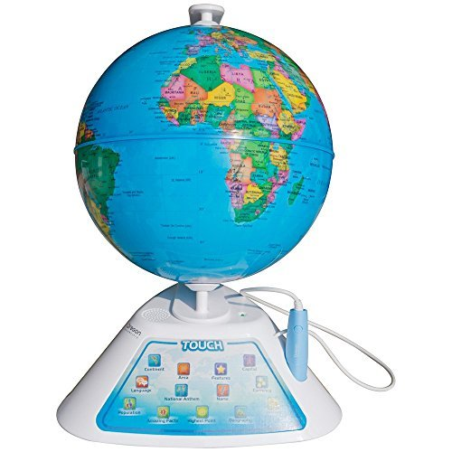 Oregon Scientific Smart Globe Discovery Educational World Geography Kids Learning Toy by