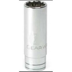 GEARWRENCH 80780 1 2 Drive 12 Point Deep SAE Socket 15 16