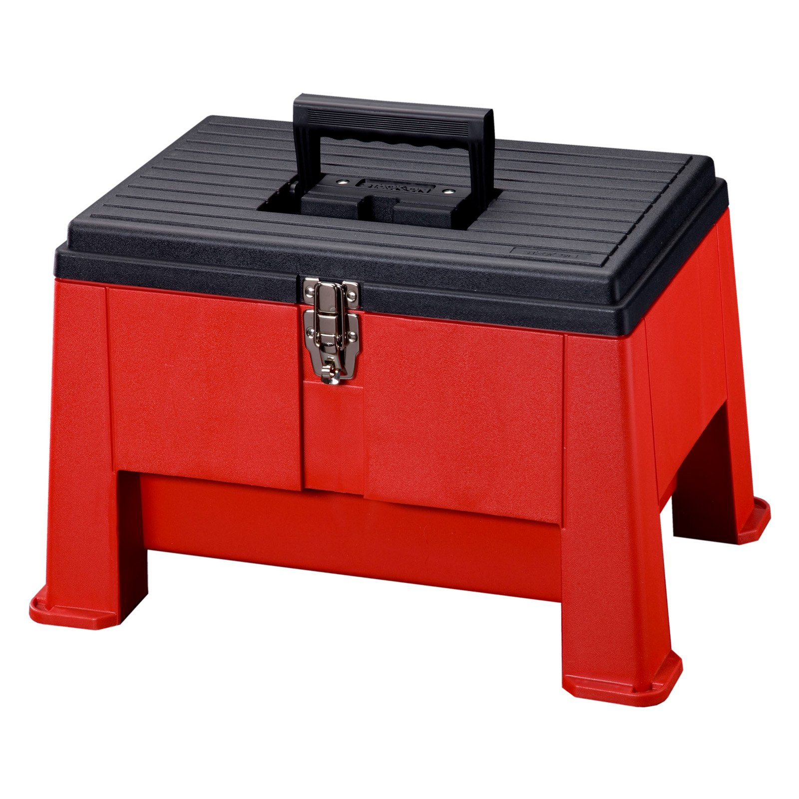 "Stack-On 20"" Step 'N Stor Tool Box, Red"