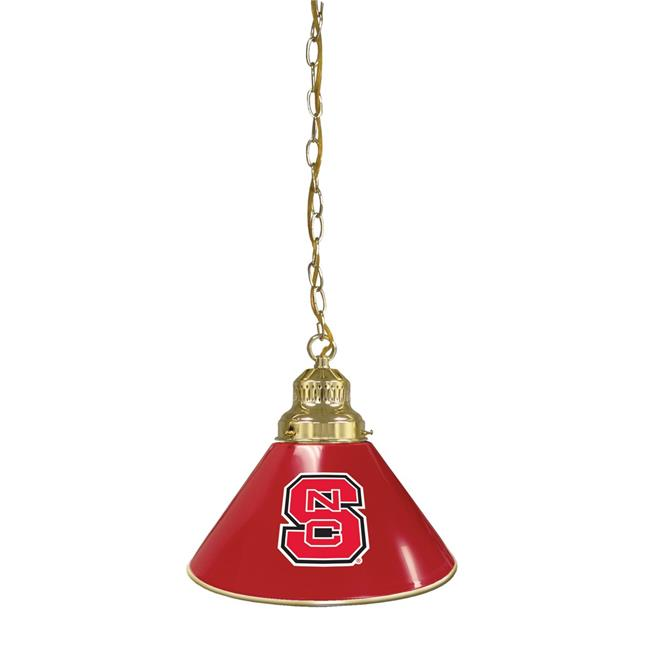Holland Bar Stool BL1BRNCarSt NCAA North Carolina State University Single Shade Pendant Light - Brass - image 1 de 1