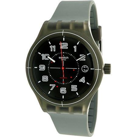 Swiss Automatic Movement Watch (Swatch Men's Originals SUTM401 Grey Plastic Swiss Automatic Fashion)