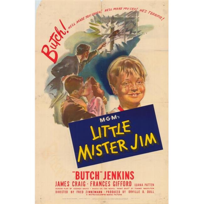 Posterazzi MOVAH6491 Little Mister Jim Movie Poster - 27 x 40 in. - image 1 of 1