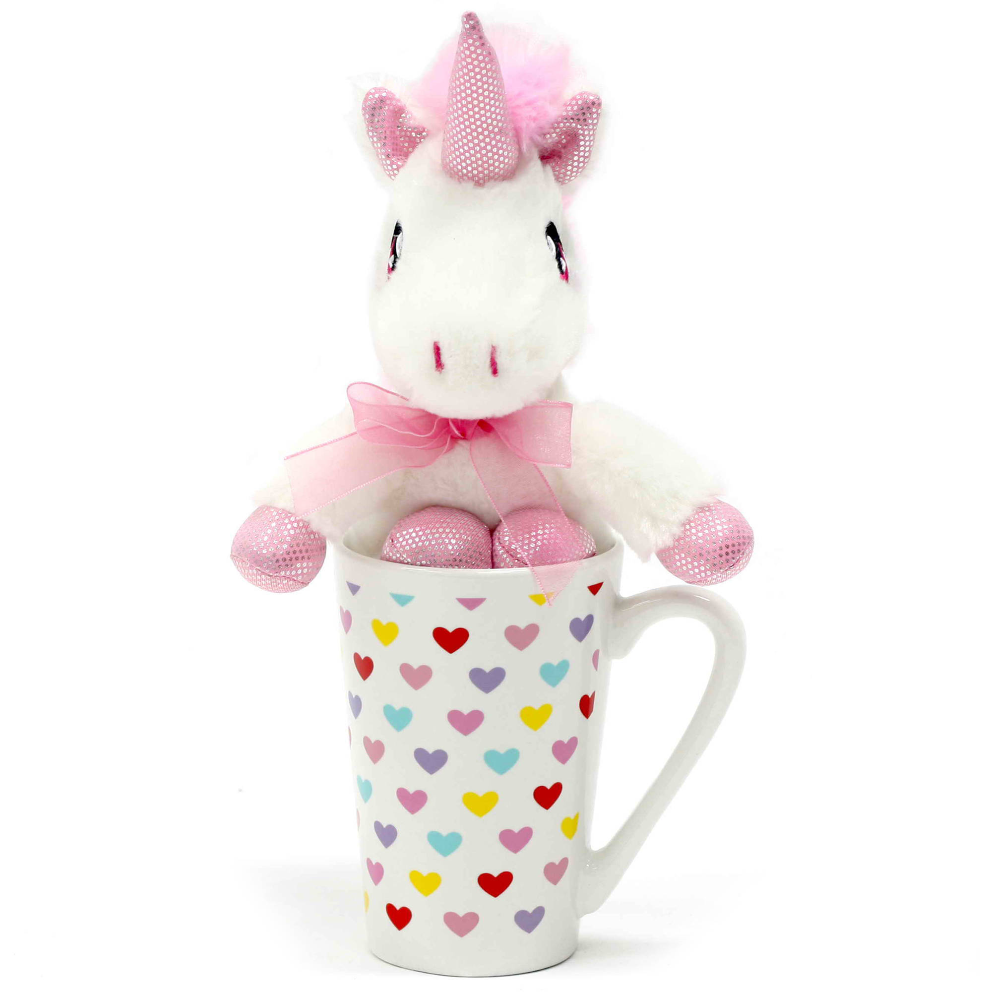 valentine's day plush animal in latte mug gift set - walmart, Ideas