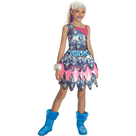 Monster High Abbey Bominable Dot Dead Gorgeous Halloween Costume Medium (8-10) - Halloween Makeup Ideas For Dead School Girl