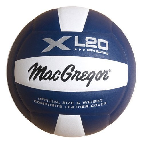 Macgregor XL 20 Volleyball-Color:Scarlet/White