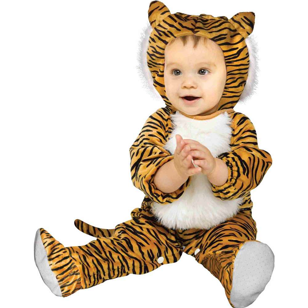 Cuddly Tiger Baby Costume