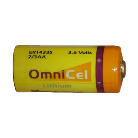 2/3 AA Omnicel 3.6 Volt (ER14335) Primary Lithium Battery (1650 mAh) - image 1 of 1
