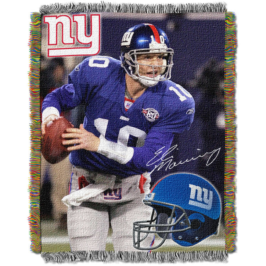 "NFL 48"" x 60"" Players Series Tapestry Throw, Eli Manning"