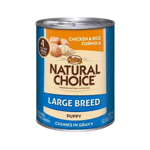 C D FORD & SONS INC Natural Choice Dog Food, Canned, Chicken & Rice, Large Breed Puppy, 12.5 oz