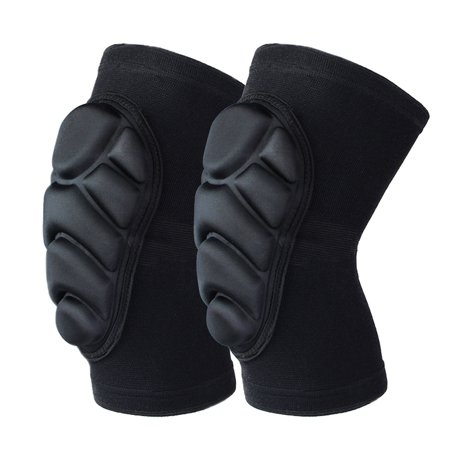 1 Pair Thickened Sponge Sports Kneepad, Anticollision Kneelet Knee Pads for Football Volleyball Sports (3 Piece Football Hip Pads)