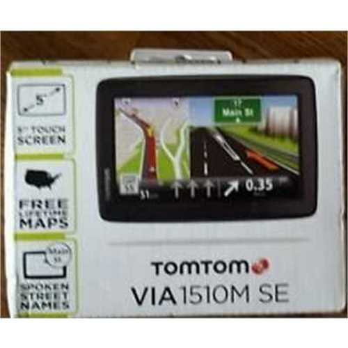 Refurbished TomTom VIA 1510M SE 5 GPS Unit