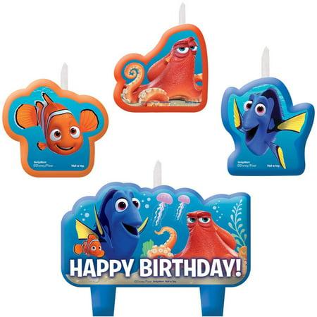 Disney Finding Dory Birthday Candle Set