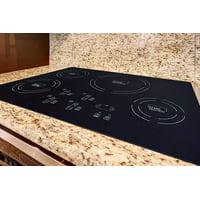 "TRUE INDUCTION 30"" Built-In 4 Burner Glass Cooktop Stove * Black * Energy Efficient"
