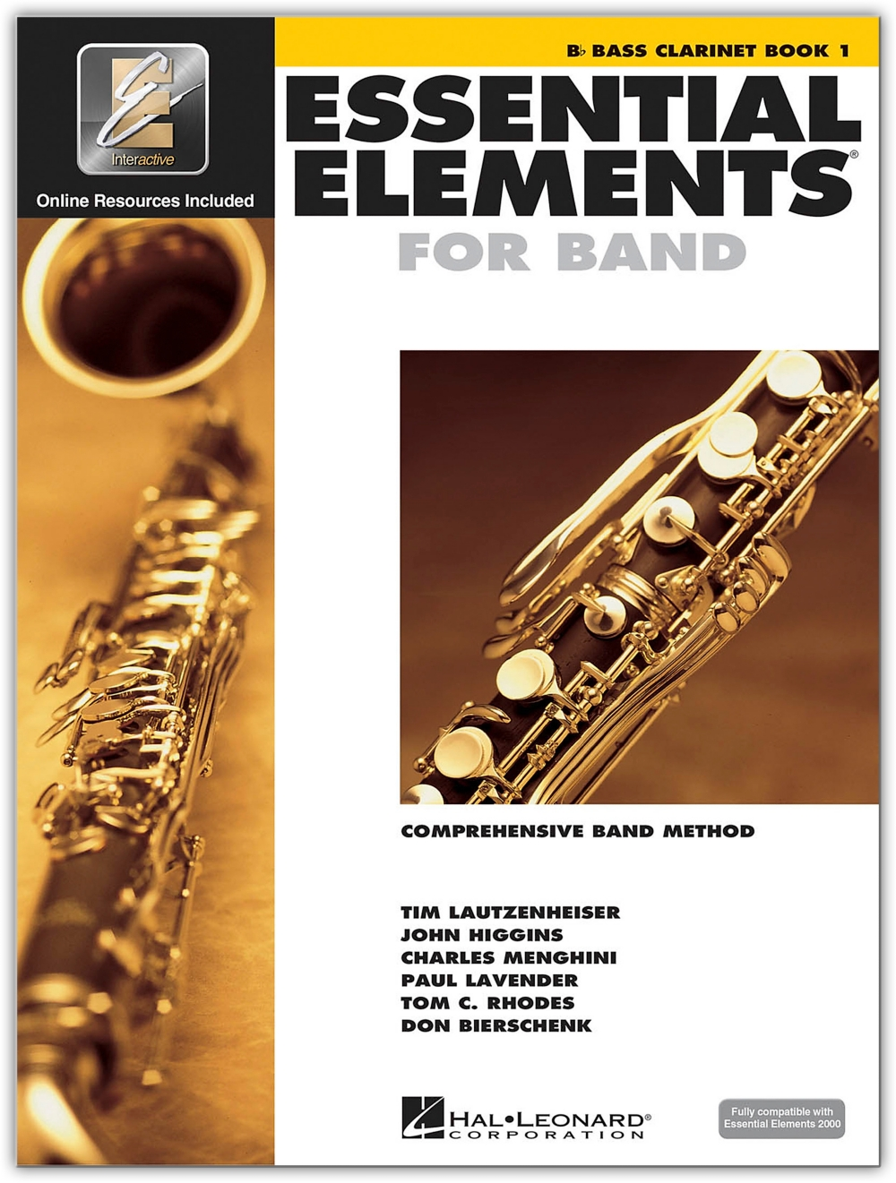 Hal Leonard Essential Elements for Band Bass Clarinet 1 Book Online Audio by Hal Leonard