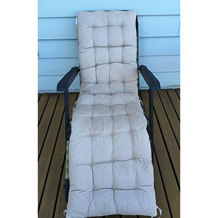 O'fit Quilted Micro Suede Bench Long Chair Cushion Pads Suede Cushion Walk