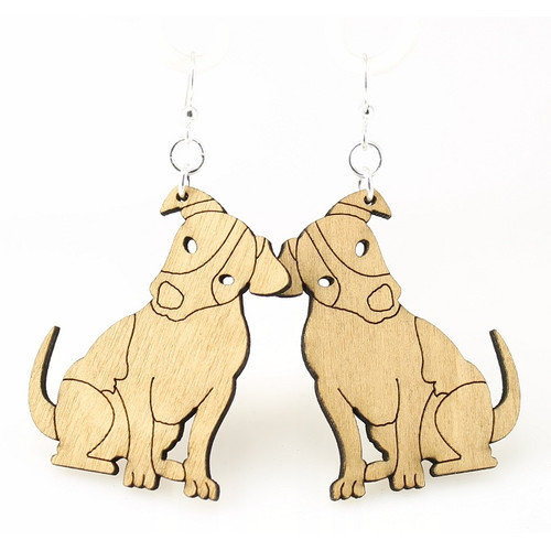Green Tree Jewelry Jack Russels Earrings