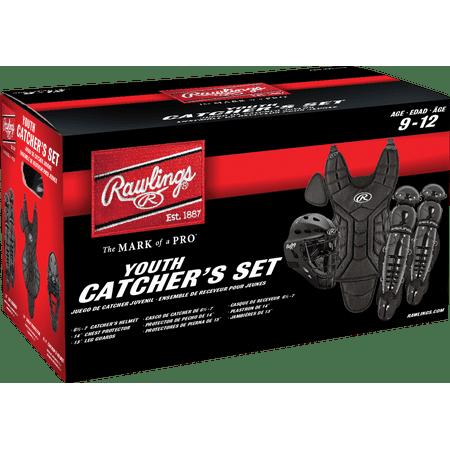 Rawlings Players Youth Catchers Set, Black