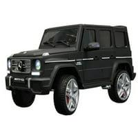KidPlay Licensed Kids Ride On Car Mercedes G65 12V Battery Powered Vehicle Black